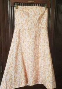 GAP Stretch strapless dress